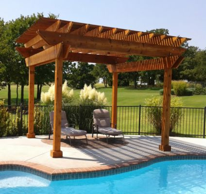 ... Pergolas & Patio Covers ... - Paver Installation, Pergola, Patio, Water Feature, Tulsa, Oklahoma, OK