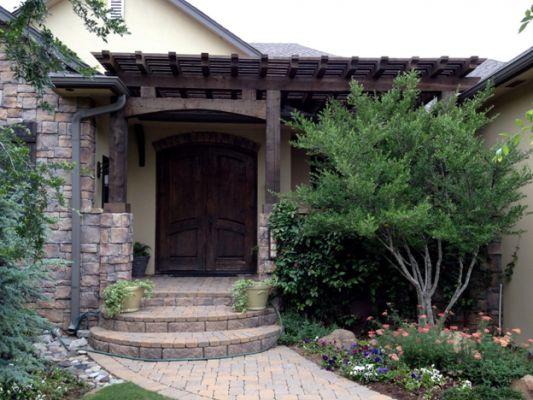 Home Front On Pinterest Garage Doors Wainscoting Ideas